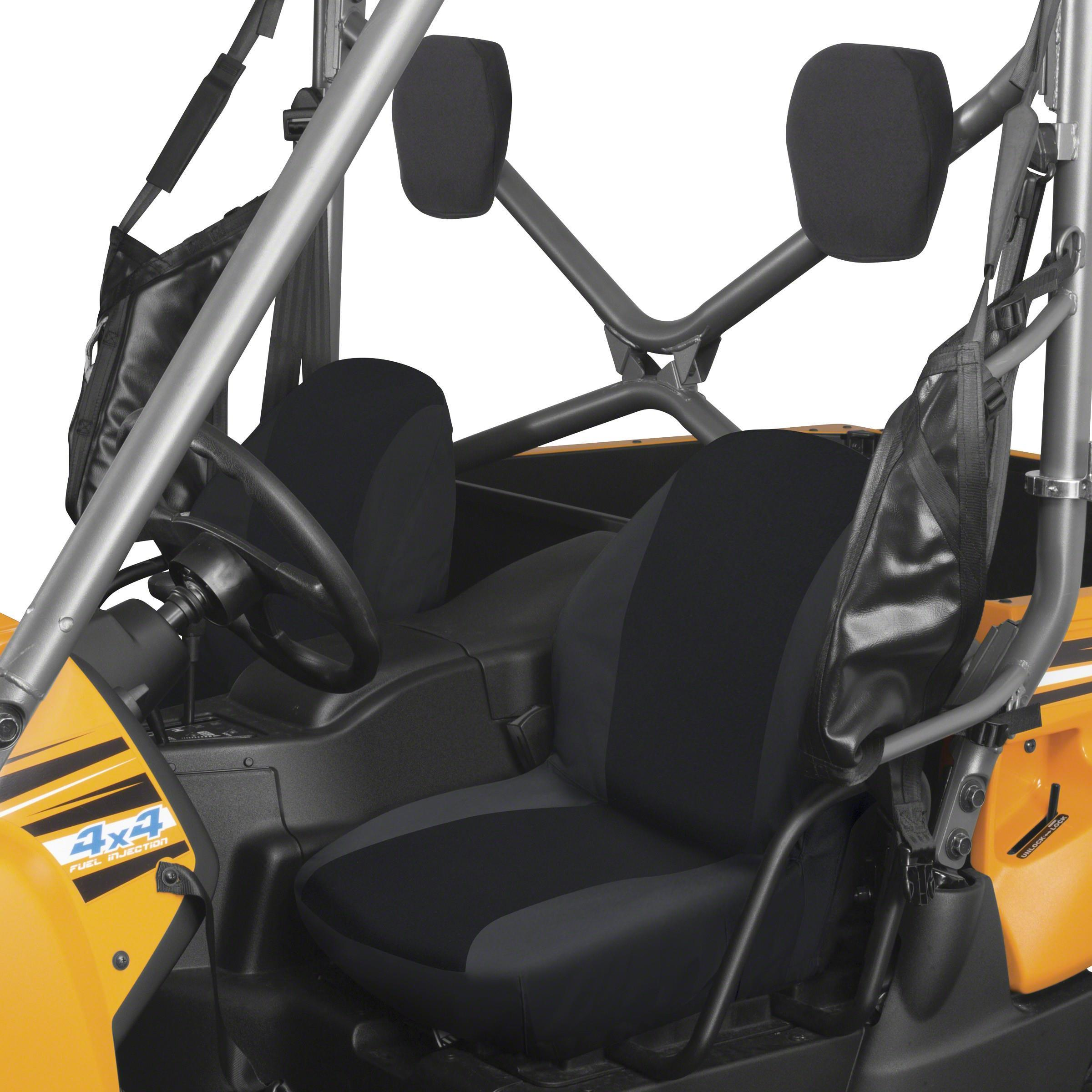 Classic Accessories 18-138-010403-00 UTV Bucket Seat Cover - Black