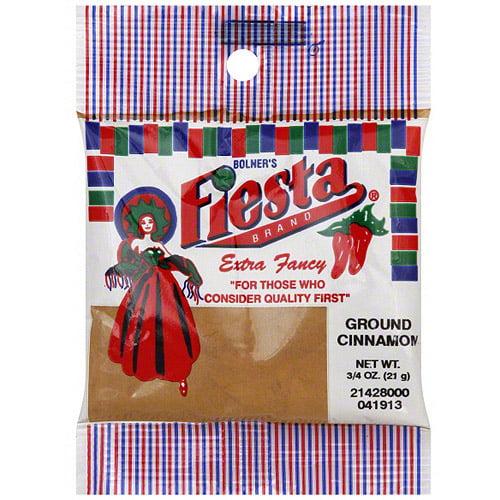 Bolner's Fiesta Brand Ground Cinnamon, 0.75 oz (Pack of 12)
