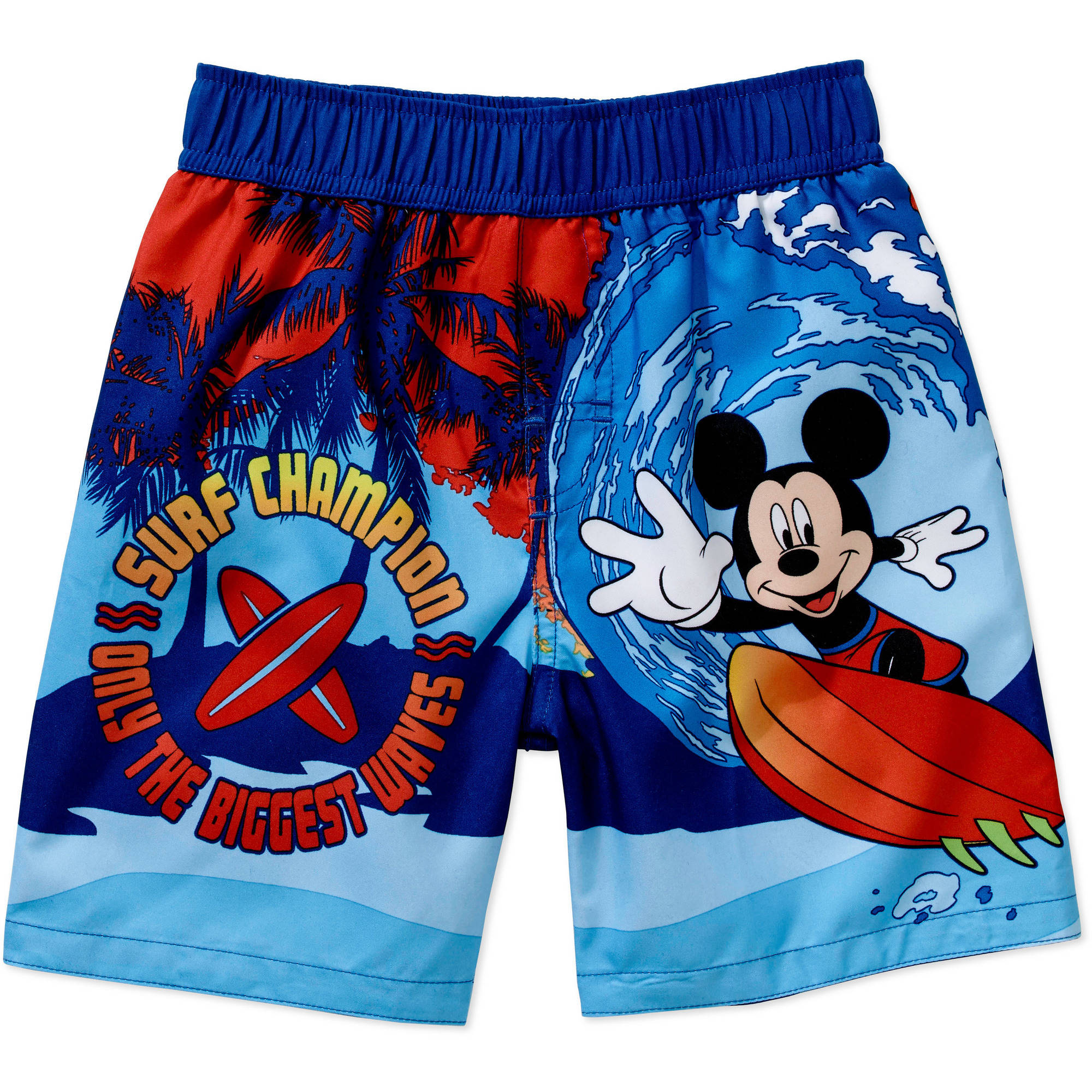 Mickey Mouse Toddler Boy Swim Trunks
