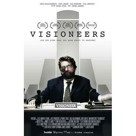 Visioneers Poster Movie  27X40