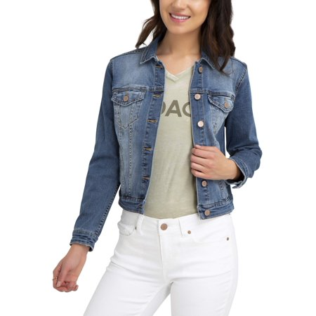 Denim Jacket Set (Women's Denim Jacket )