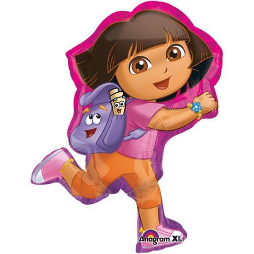 """Dora The Explorer Super Shape 32"""" Balloon - Party Supplies"""