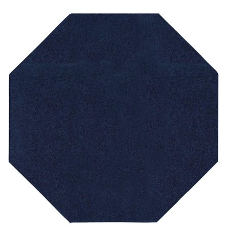 Bright House Solid Color Area Rugs navy - 4'