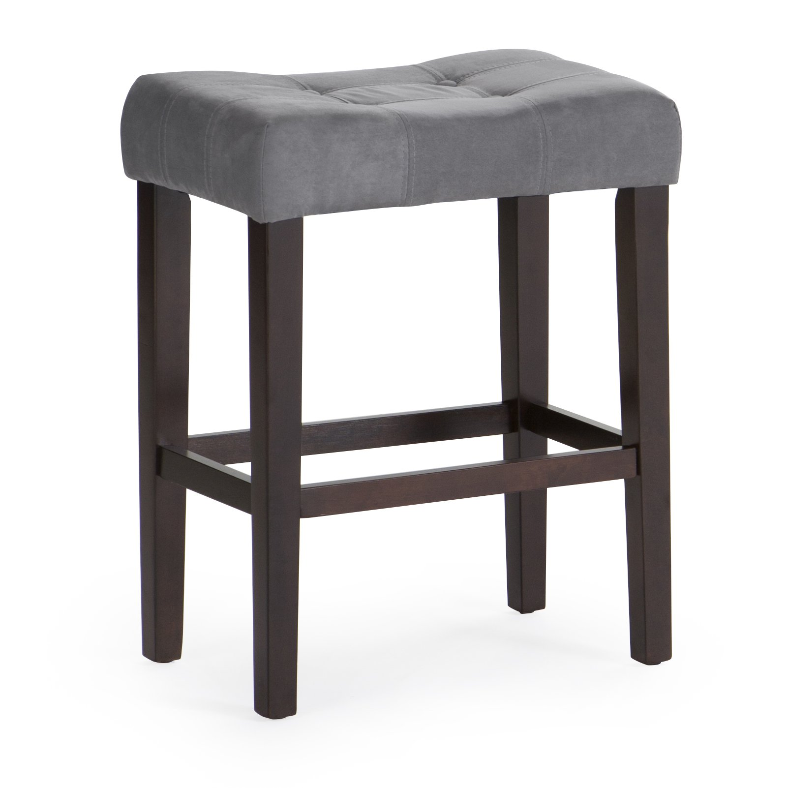Palazzo 26 Inch Saddle Counter Stool Walmartcom