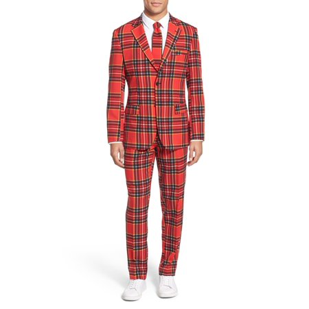 OppoSuits Men's The Lumberjack Christmas Suit