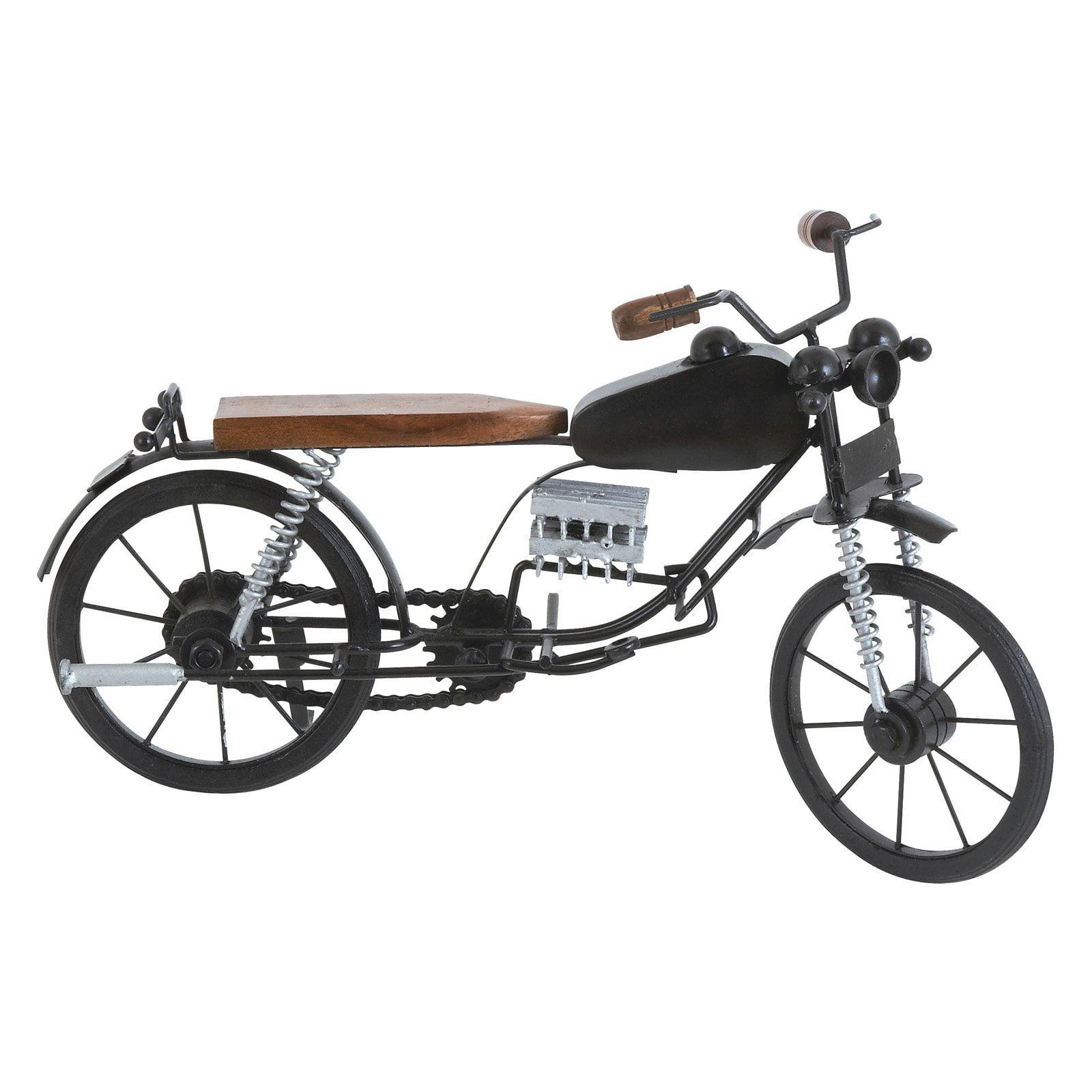 Metal and Wooden Motorcycle Sculpture II