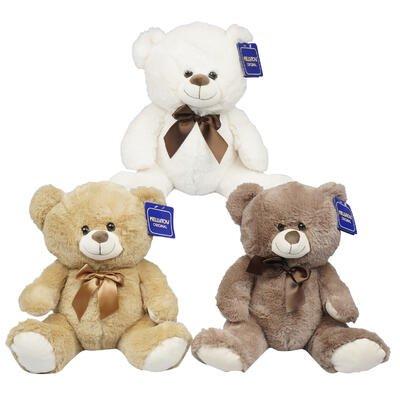 Plush Animals Wholesale (New 215060  Plush Sitting Bear (6-Pack) Cheap Wholesale Discount Bulk Toys Small Candle)