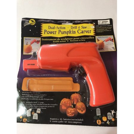 Dial Action Drill & Saw Power Pumpkin Carver Missing Some Part Ships N - Pumpkin Power Saw