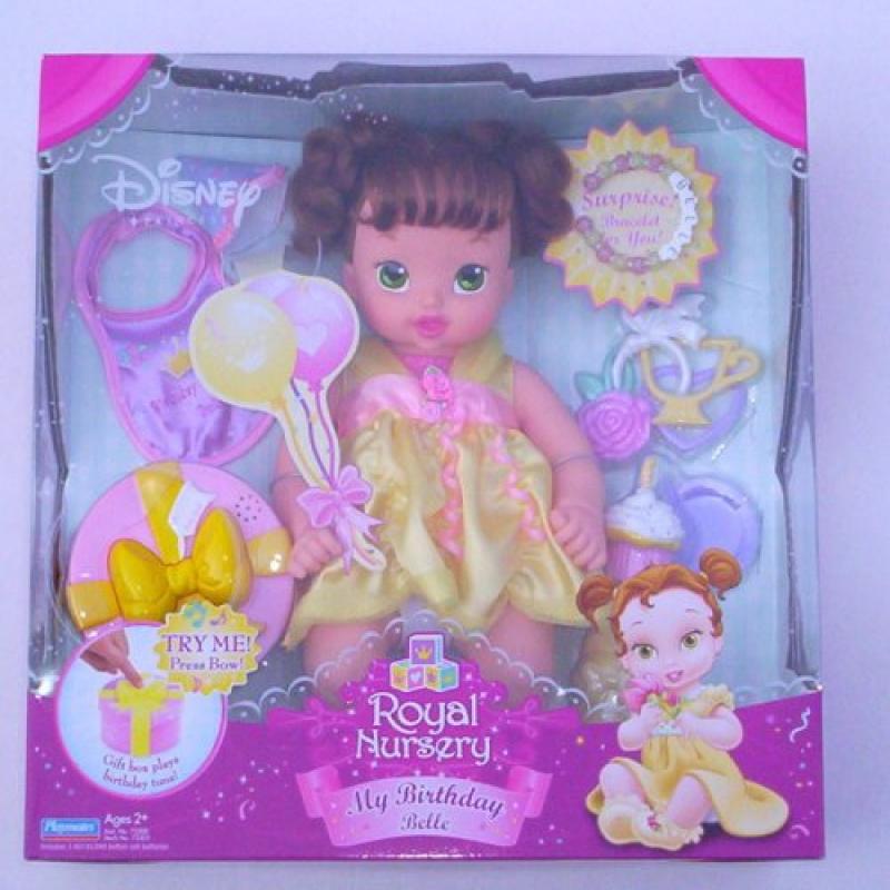 Disney Royal Nursery My Birthday Belle Princess Baby Doll