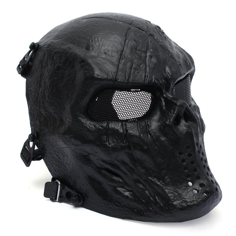 Outdoor Tactical Gear Mask Airsoft Mask Overhead Skull Mask Cs War Game Mask