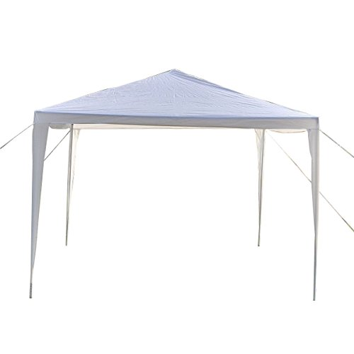 10'x10' Canopy Party Wedding Tent Heavy Duty Gazebo Pavilion Cater Event
