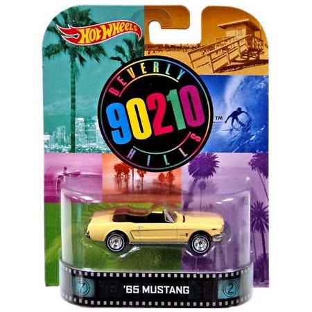 Hot Wheels Retro '65 Mustang Diecast (Retro Mustang)