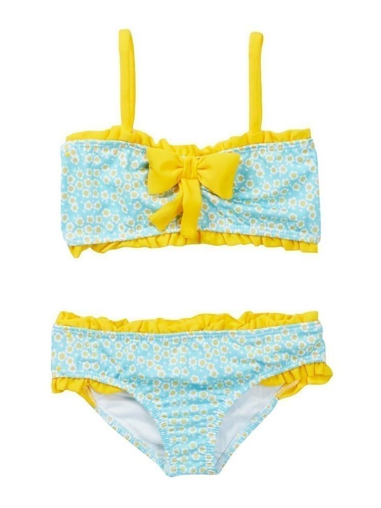 Azul Candy Crush Bandeau Bikini