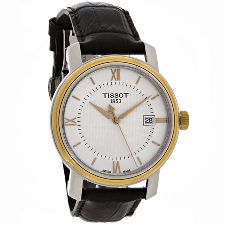 Tissot Bridgeport Mens Brown Leather Strap Swiss Quartz Watch T097.410.26.038.00 (Unworn) No Box or Papers (Tissot Swiss)