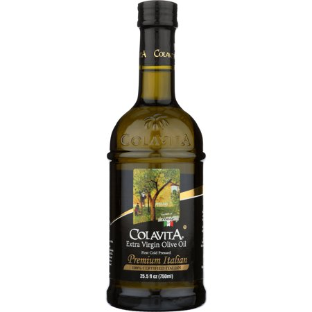 Colavita Premium Italian Extra Virgin Olive Oil, 25.5oz, Glass
