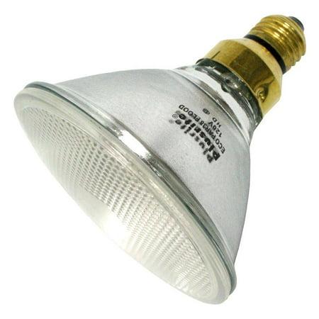 60W PAR38 Halogen Light Bulb - Flood, 120V - 60PAR38/ECO/FL/120 - Plusrite -