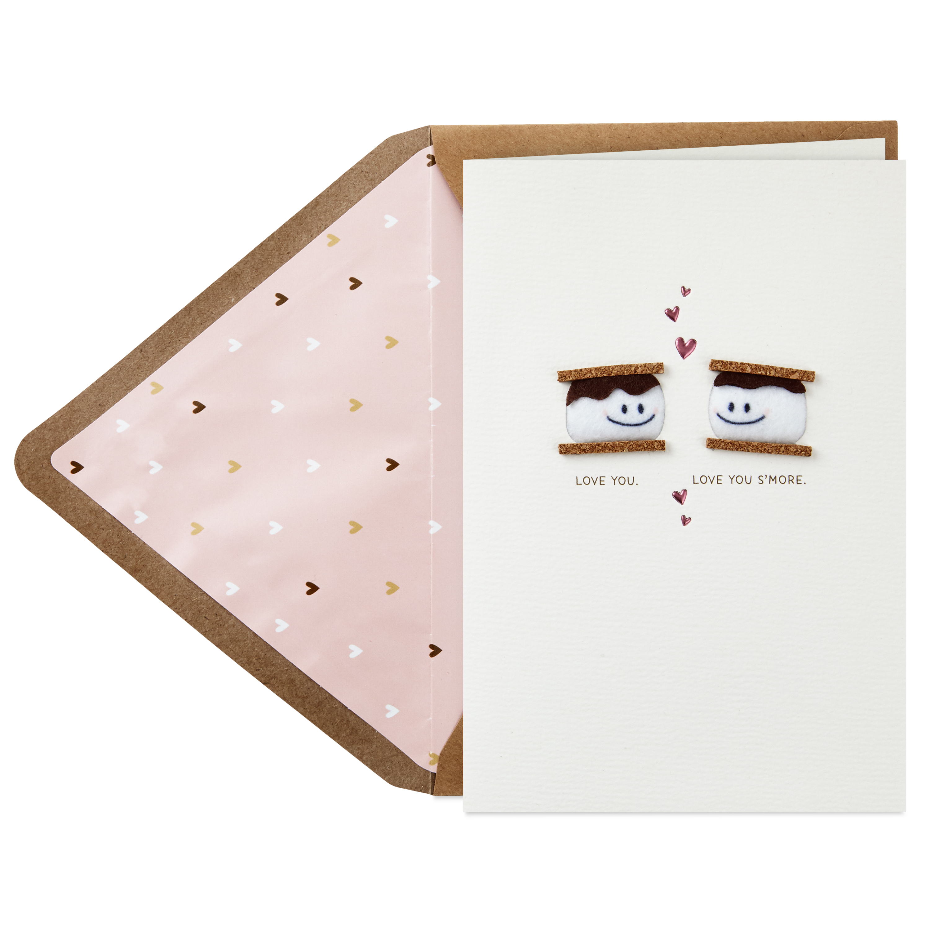 Hallmark Signature Valentine's Day Card for Significant Other (Smores)