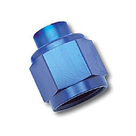 Russell Performance -6 AN Flare Cap (Blue)