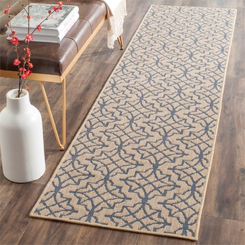 Safavieh Palm Beach 4' X 6' Hand Woven Rug in Natural and Black - image 6 de 8