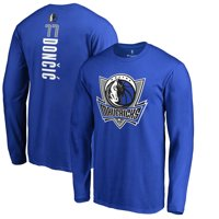 a6ec73fa5 Product Image Luka Doncic Dallas Mavericks Fanatics Branded Team Backer  Name   Number Long Sleeve T-Shirt