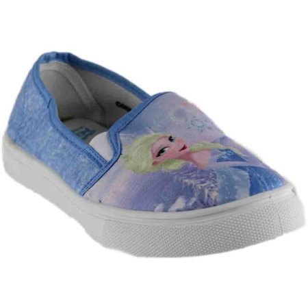 Disney Womens Elsa And Anna Slip On Shoes  Casual Casual Shoes Shoes