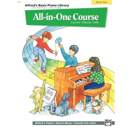 - Alfred's Basic Piano Library: Alfred's Basic All-In-One Course, Bk 2: Lesson * Theory * Solo (Universal Edition) (Paperback)
