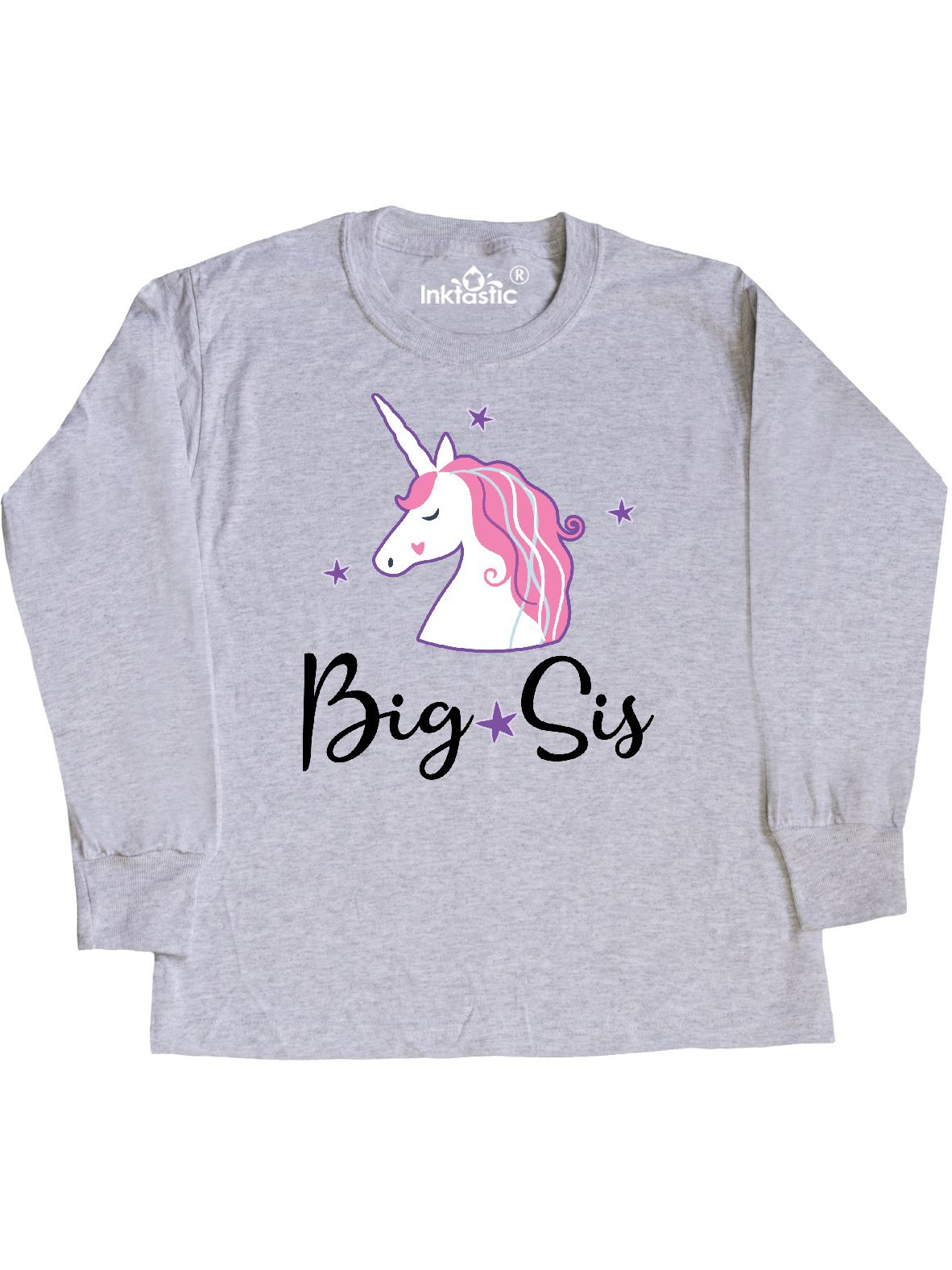 Cute Unicorn Toddler T-Shirt inktastic Most Magical Sister