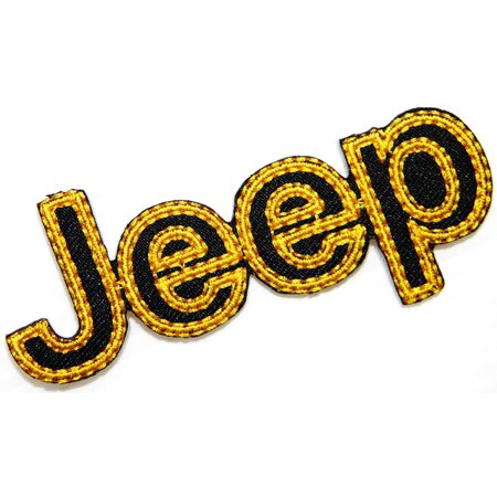Jeep Wrangler Grand Embroidered Patch 3.5