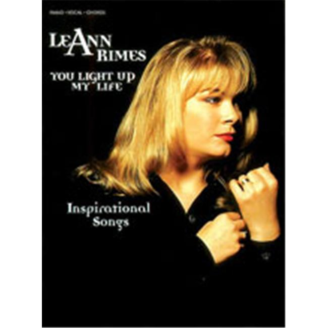 Alfred 00-PF9737 LeAnn Rimes- You Light Up My Life- Inspirational Songs - Music Book