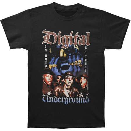 Digital Underground Mens  In Hump We Trust T Shirt Black