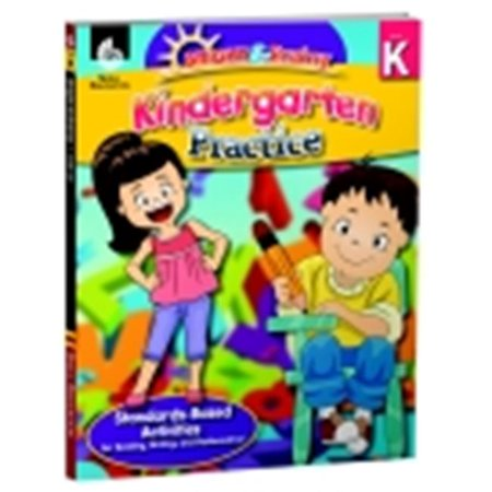Shell Education Bright And Brainy Book Kindergarten Practice