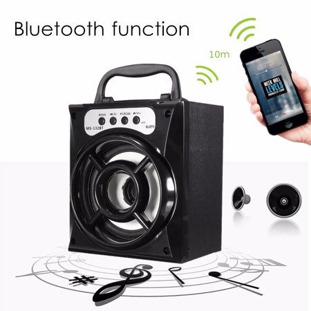 Wireless Portable LED bluetooth Stereo Super Bass Speaker Soundbox FM Radio,Night Light Changing Handsfree/TF/ USB Disk/AUX-in For Phone PC Tablet MP4 MP3 Gift Outdoor Indoor