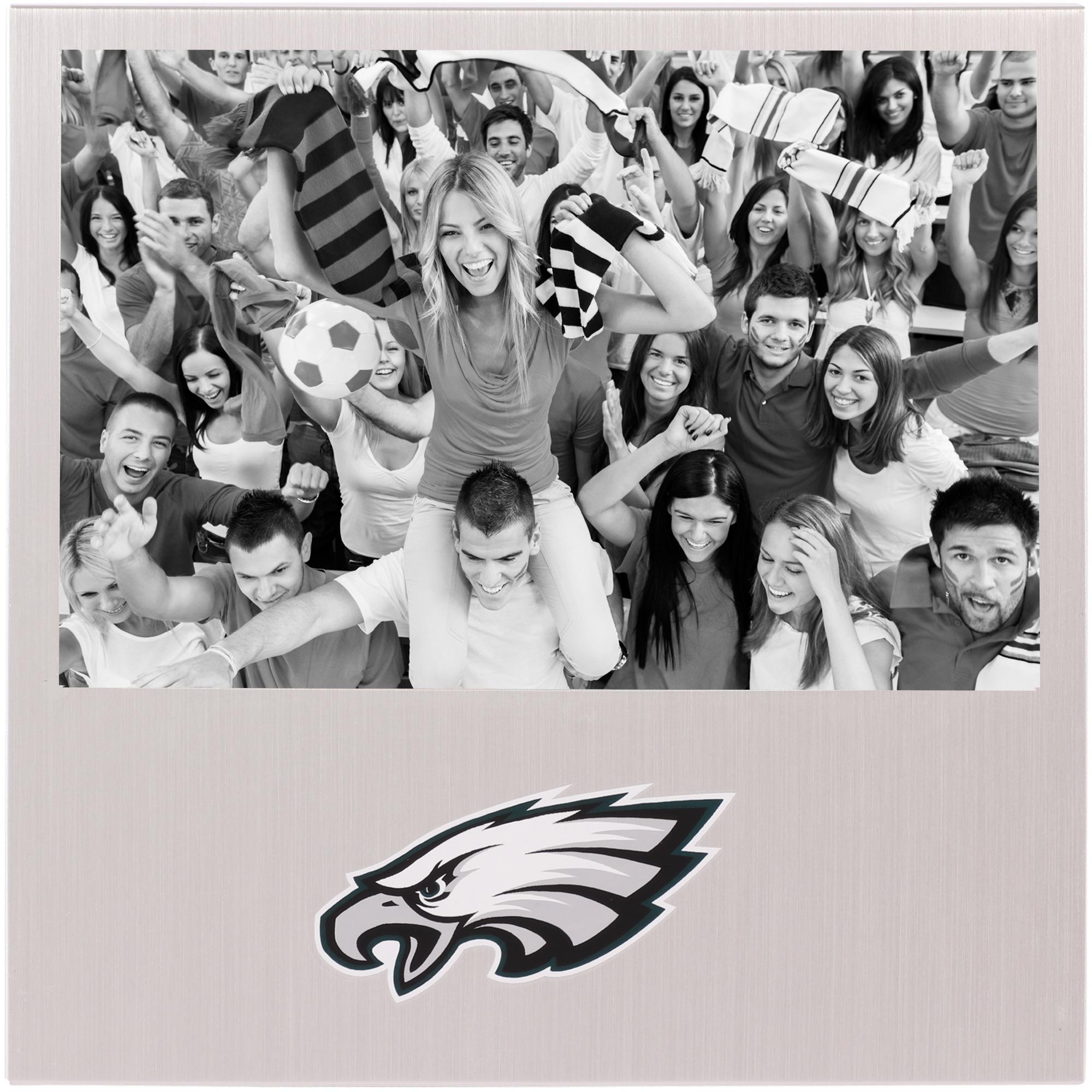"Philadelphia Eagles 4"" x 6"" Aluminum Picture Frame - No Size"