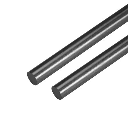 8mm Carbon Fiber Bar For RC Airplane Matte Pole US, 200mm 7.8 inch, 2Pcs Bay 8 Mm Laminate