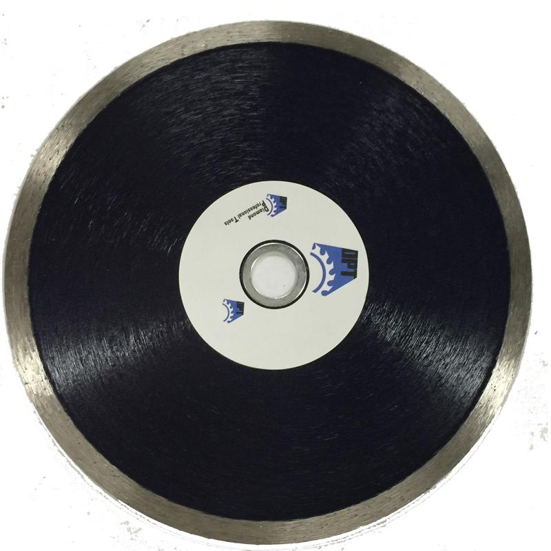 DPT 7 Inch Diamond Saw Blade Continuous Rim Wet for Cutting Tile, Porcelain, Stone, and Masonry Materials, Super Plus Quality