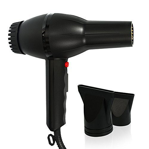Prodryer 2100 Watt A/C Motor Ionic Ceramic Tourmaline Turbo Two Nozzles Hair Dryer
