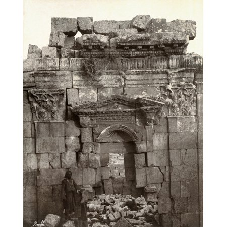 Jordan Jerash Nruins Of The Propylaeum At The Roman City Of Jerash Jordan Photograph Late 19Th Century Poster Print By Granger Collection