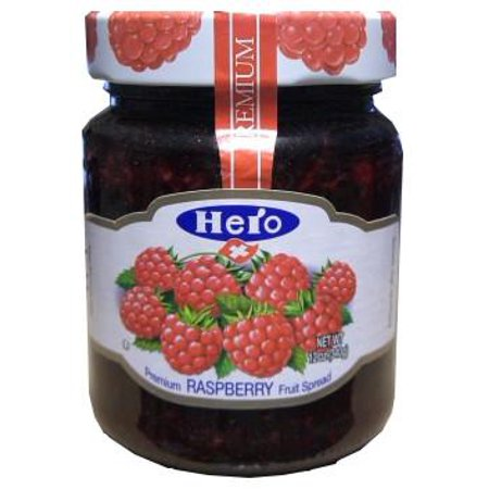 Hero Raspberry Fruit Spread, 12 oz
