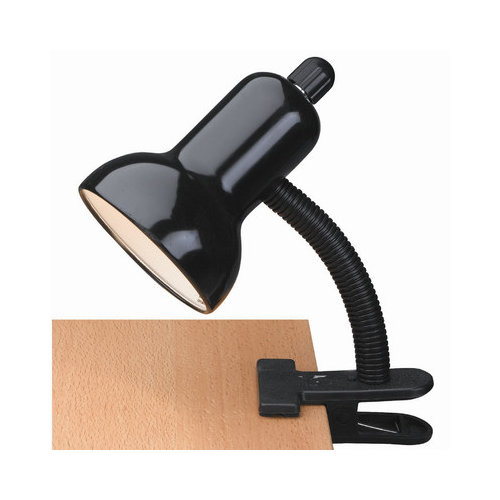 Lite Source Gooseneck Reading 12'' H Table Lamp with Bell Shade