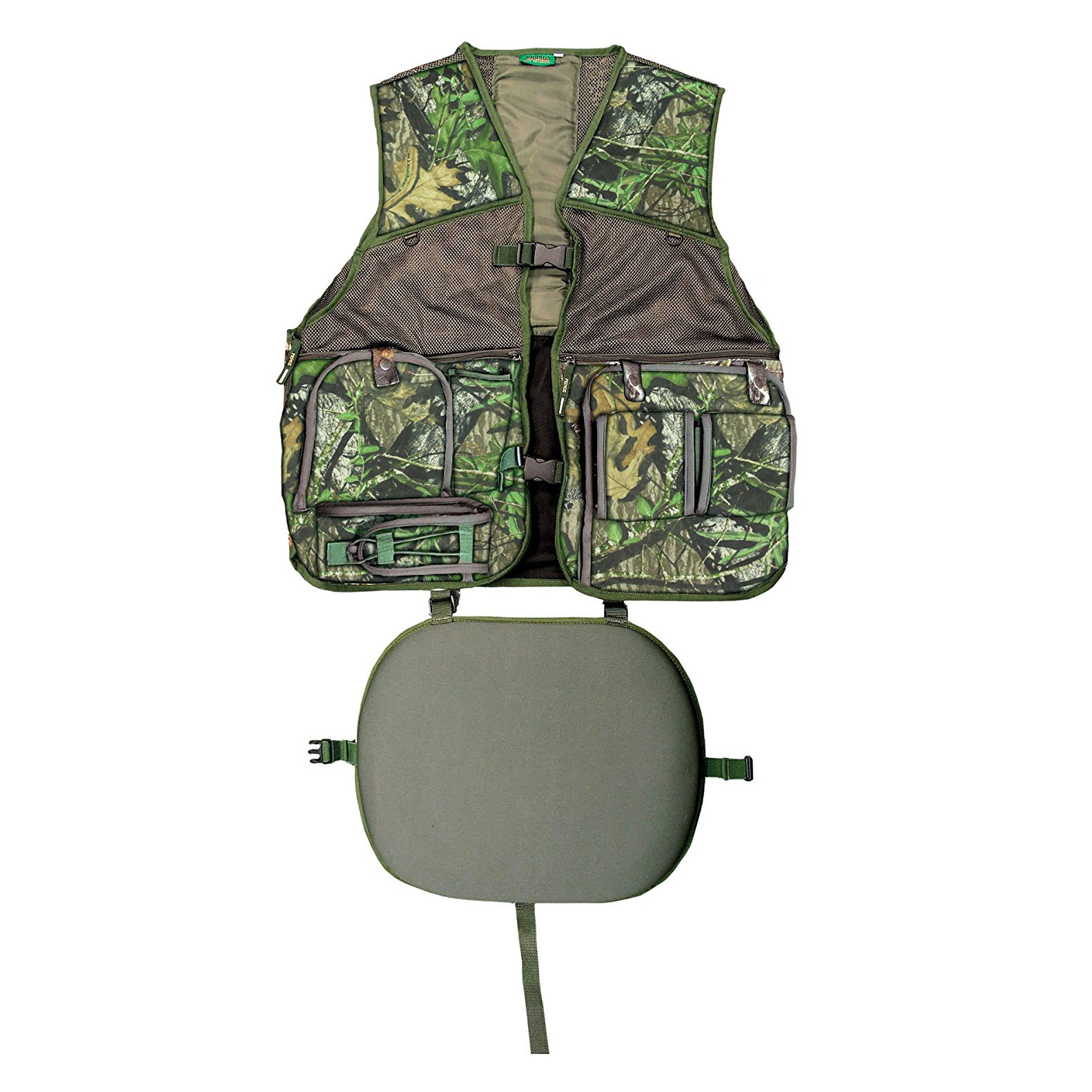 Primos PS6560 Gobbler Vest Camo L/XL Mesh and TreeHide