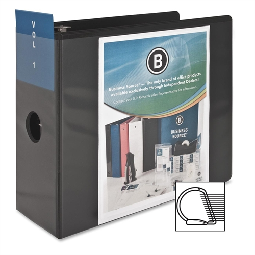 Business Source Basic D-Ring View Binder 28451