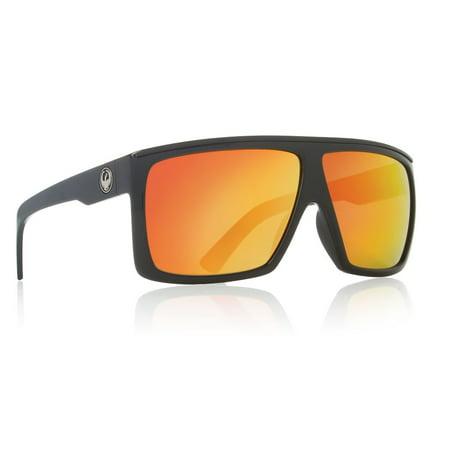 a92cd9ec478 Dragon Alliance - 720-1900 Fame Jet   Red Ion Polycarbonate Lens Sunglasses  - Walmart.com