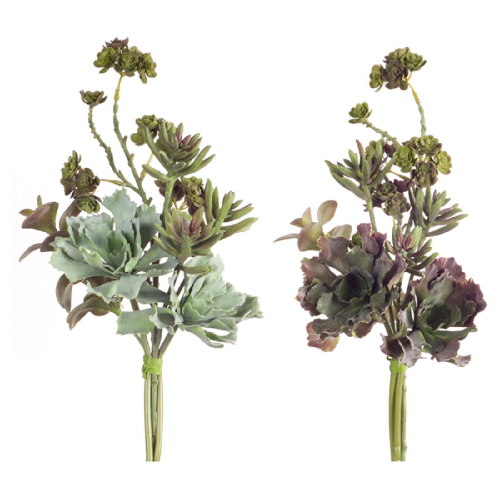 Melrose International Succulent Bundle Silk Plant - Set of 6