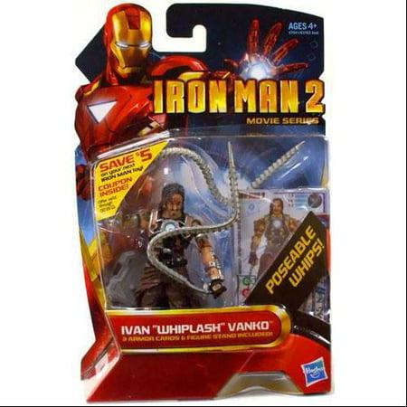 Hasbro Iron Man 2 Movie Series Ivan Whiplash Vanko Unarmored 4