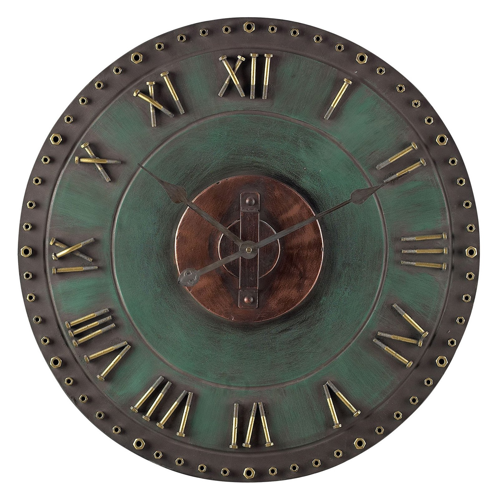 Sterling 31.5 in. Roman Numeral Outdoor Wall Clock