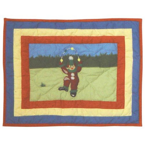 Patch Magic Circus Cotton Boudoir/Breakfast Pillow