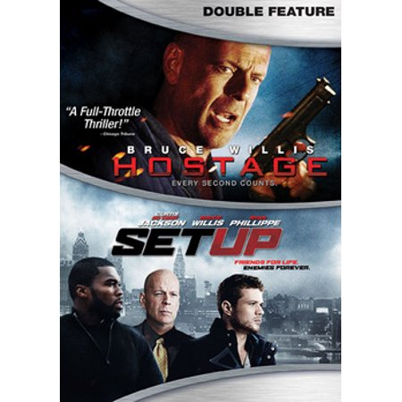HOSTAGE/SET UP (DVD/DOUBLE FEATURE/WS/ENG/ENG SUB/FREN/SPAN SUB/ENG SDH/5.1