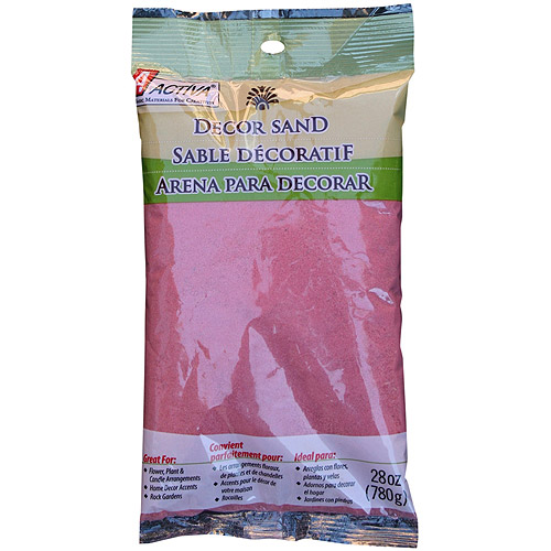 ACTÍVA 28 oz. Bag of Bermuda Blue Decor Sand - Decorative Colored Sand