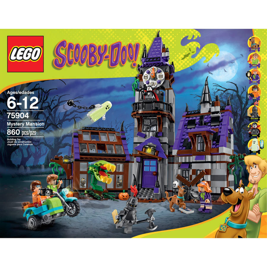 Scooby Doo Bedroom Accessories Lego Scooby Doo Mystery Mansion 75904 Walmartcom