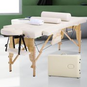 "Massage Table Massage Bed Spa Bed 73"" Long Height Adjustable W/Sheet Cradle Bolster"